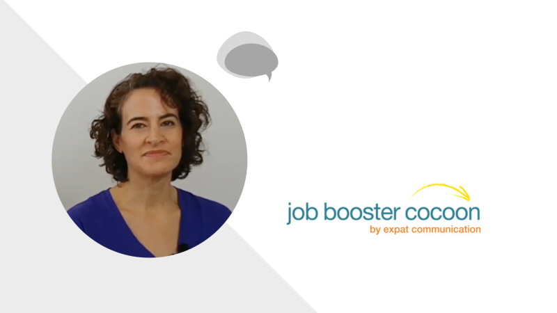 Job Booster Cocoon : Elissa from the US